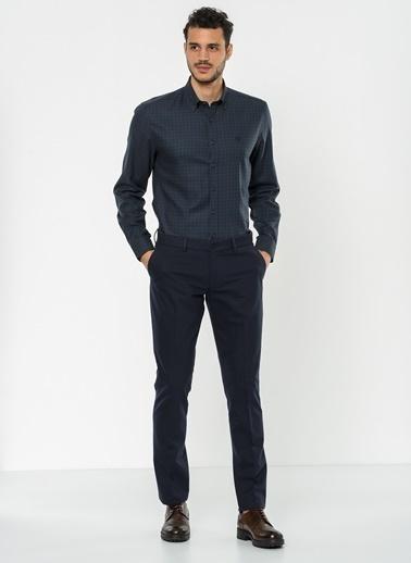 Beymen Business Kareli Gömlek Lacivert